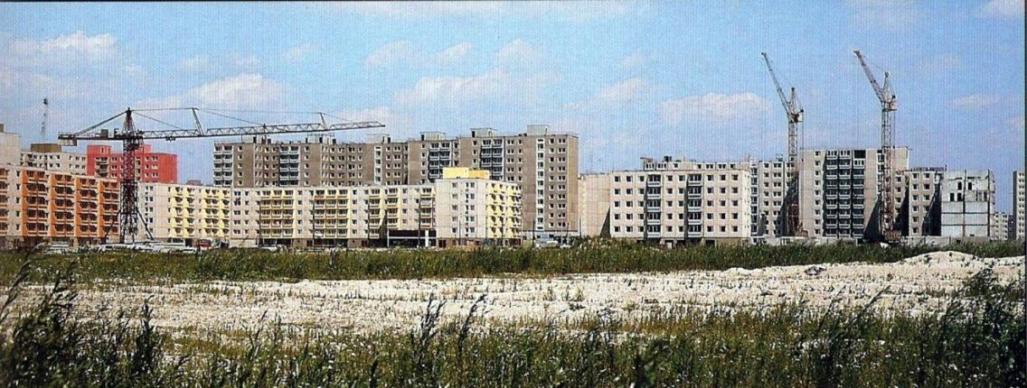Épül a Kun Béla lakótelep (forrás: marcalvaros.eu)