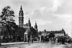 Egy 1910 körüli képeslapon egy kis historizáló pavilon szerepel. (Fotó: képeslap)
