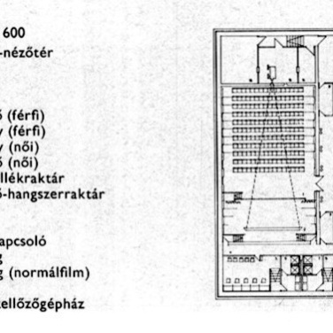 Pinceszinti alaprajz. (forrás: MÉ 1974/1)