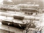 Autóbusz állomás Győr, archív kép 2.