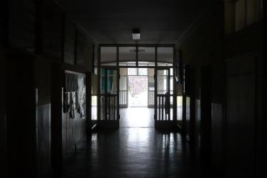 Az egyik oldalszárny folyosója. (fotó: HG)