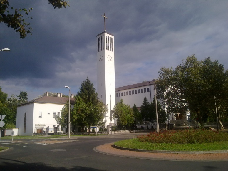 A Szent Imre templom. (fotó: HG)