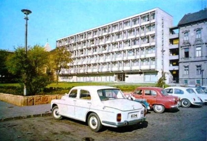 Az eredetileg Ifjúsági Szállónak épület. (forrás: Régigyőr)