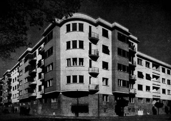 MVG Bérház (forrás: MÉ 1943/12.)