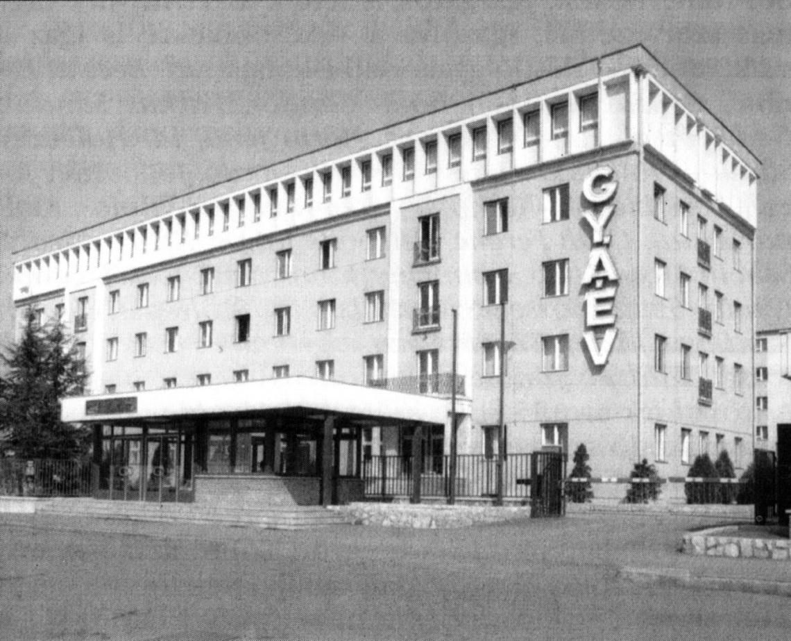 Az épület a nyolcvanas években. (forrás: archív)
