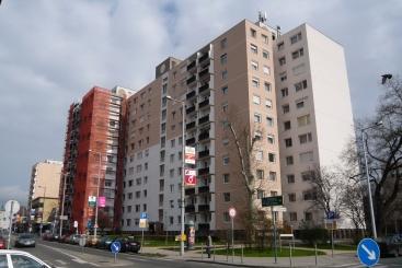 A panelépületeket 2008-ban hőszigetelték. (fotó: HG)