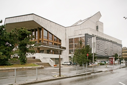 A fő- és másik oldalhomlokzat. (fotó: HAP Galéria, 2007)