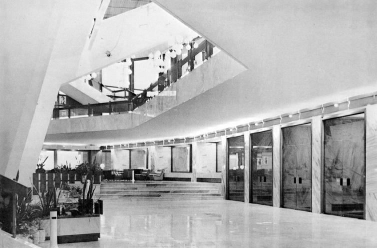 A színház előtere. (fotó: archív)