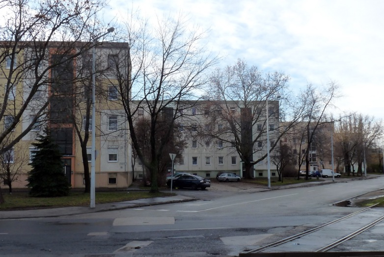 A Mester utcai házak ma. (fotó: HG)