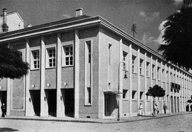 Lakatos Kálmán és Gallyas Camilló tervei szerint megújult ház. (forrás: Tér és Forma, 1936)