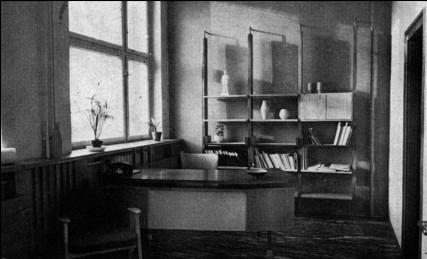 Igazgatói iroda igazgató nélkül... (forrás: MÉ 1965/4)