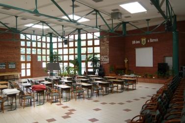 Az aula belülről. (fotó: HG)