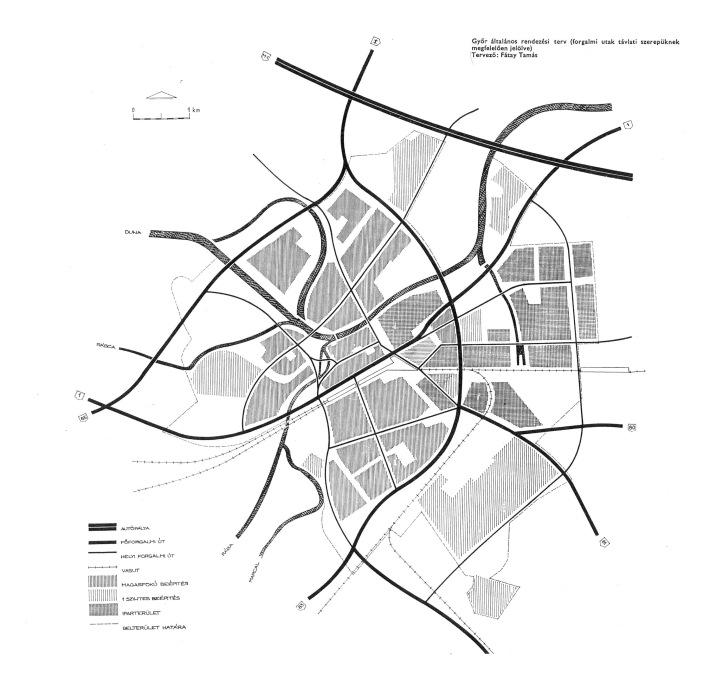 Általános rendezési terv, közlekedés