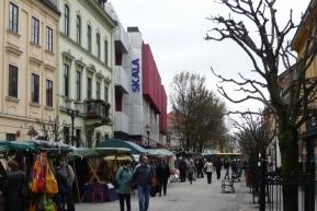 A Skála (Arrabona) a Baross utca felől nézve. (fotó: HG)