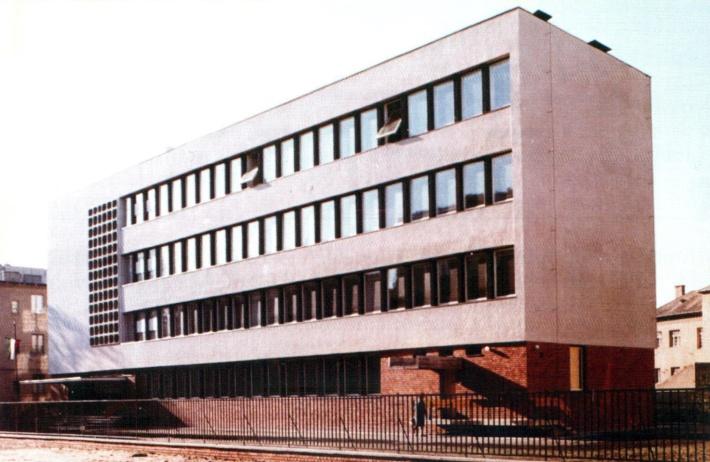 A Gárdonyi Géza iskola bővítése 1960-ból. (fotó: Fátay)