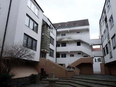 A teleki utcához legközelebb eső ház belső udvarának formái. (fotó: HG)