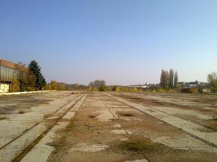 Ez maradt a vagongyárból... (most piac van a területen) (fotó: HG)
