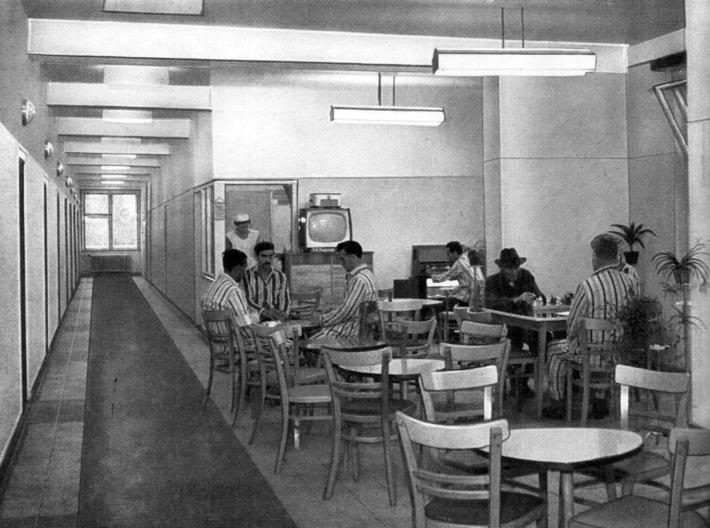 A kórház belső tere. (forrás: Győri Képeskönyv, 1965)
