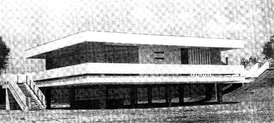 Az eredeti állapot 1964-ben. (forrás: Műszaki Tervezés, 1964/12)