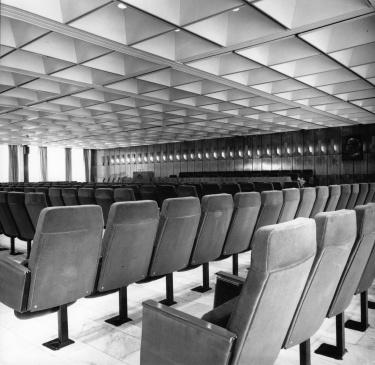 A konferenciaterem. (Lőrincz József hagyatékából)