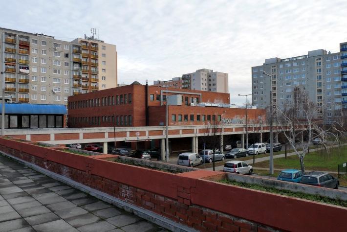 Az épületegyüttes déli része. (fotó: HG)
